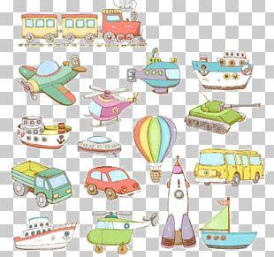 Air Transportation Airplane Illustration PNG