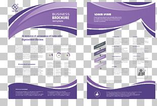 Brochure Flyer Template PNG