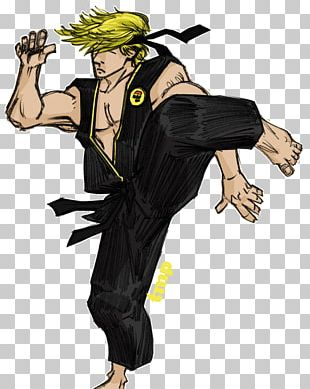 Johnny Lawrence Drawing Cartoon The Karate Kid PNG