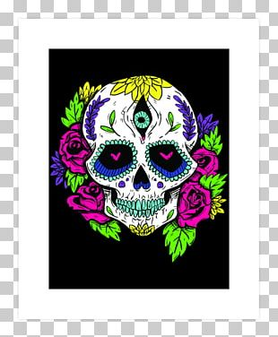 La Calavera Catrina T-shirt Skull Day Of The Dead PNG