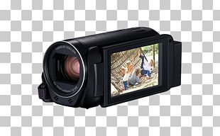 Video Cameras Canon Stabilization Zoom Lens PNG