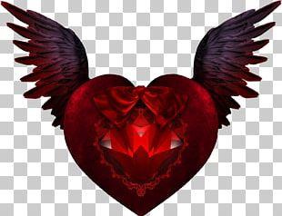 Devil Angel Heart Demon Tattoo Png Clipart Angel Angels Angels