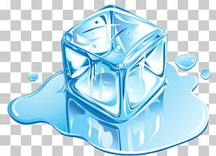 Ice Cream Ice Cube Melting PNG
