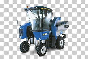 Motor Vehicle Machine à Vendanger Mate New Holland Agriculture PNG