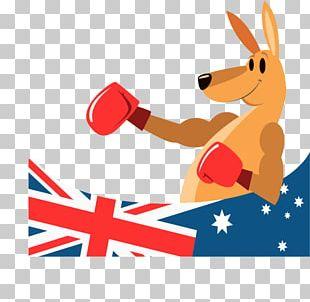 Australia Boxing Kangaroo PNG