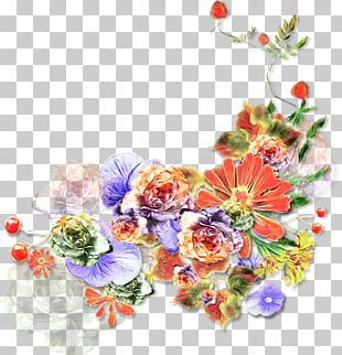 Floral Design Flower Watercolor Painting Art PNG