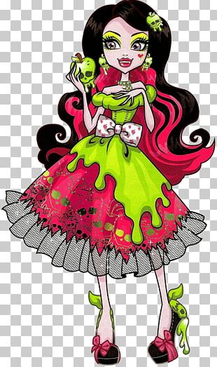Frankie Stein Monster High Ever After High Doll PNG