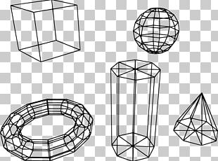Wire-frame Model Polygon Mesh 3D Computer Graphics Three-dimensional Space PNG