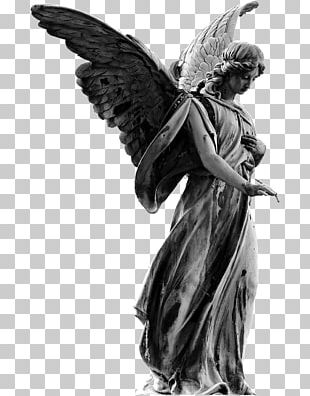 Angel Cherub Statue Lucifer Art PNG