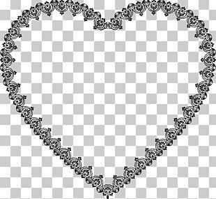 Heart Decorative Arts Ornament Lace PNG