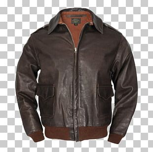 Leather Jacket Flight Jacket A-2 Jacket United States Army Air Forces PNG