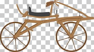 History Of The Bicycle Dandy Horse Bicycle Wheels PNG