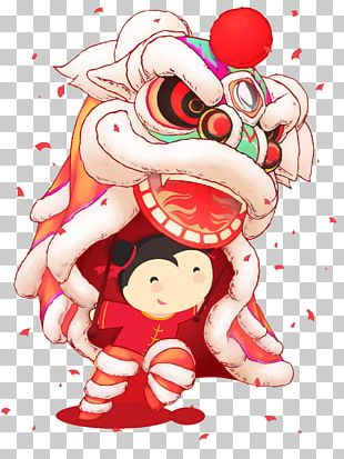 Lion Dance Chinese New Year PNG