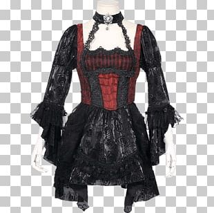Lolita Fashion Victorian Era Dress Gothic Fashion Goth Subculture PNG
