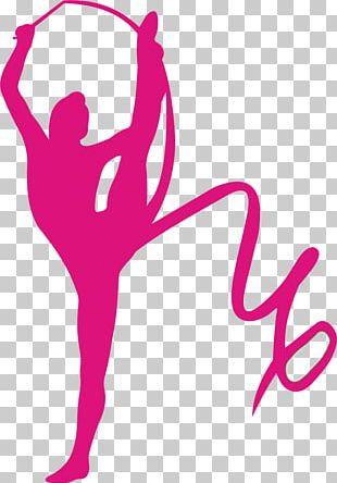 Rhythmic Gymnastics Ribbon Wall Decal Sport PNG