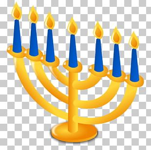 Hanukkah Menorah Christmas Judaism PNG
