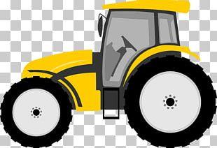 Tractor Farmall Cartoon PNG