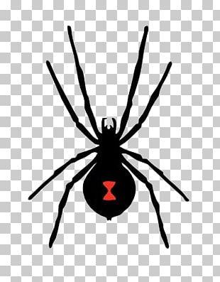 Spider-Man Western Black Widow PNG