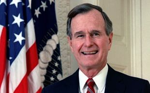 George H. W. Bush President Of The United States Bush Family Republican Party PNG