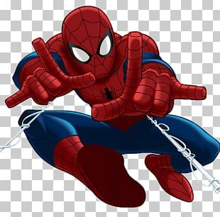 Ultimate Spider-Man Comic Book PNG