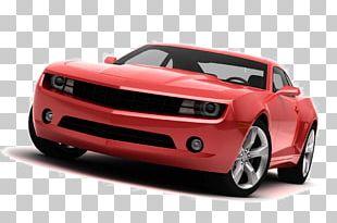 Sports Car Volkswagen Golf Concept Car Sticker PNG