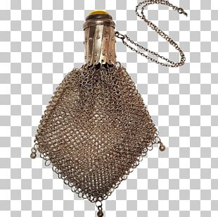 Silver Coin Purse Metal Chatelaine Mail PNG