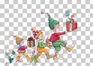 Lutin Santa Claus Père Noël Christmas Nisse PNG