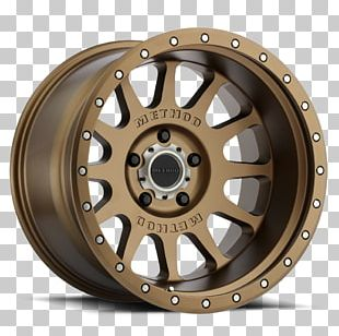 Rim Method Race Wheels Bronze Four-wheel Drive PNG