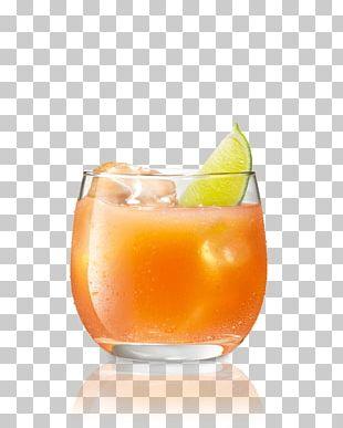 Orange Drink Mai Tai Cocktail Juice Sea Breeze PNG