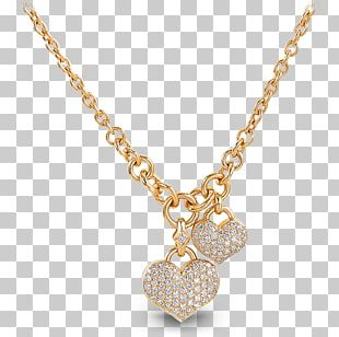 Necklace Jewellery Charms & Pendants Gold Cubic Zirconia PNG