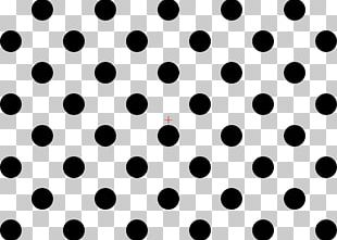 Polka Dot White Circle Pattern PNG