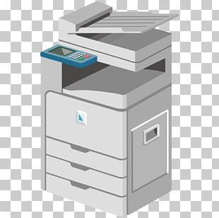 Laser Printing Photocopier Multi-function Printer Office PNG