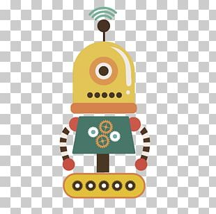 Robot Euclidean Cartoon Illustration PNG