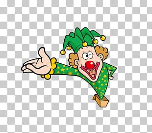 Clown April Fools Day PNG