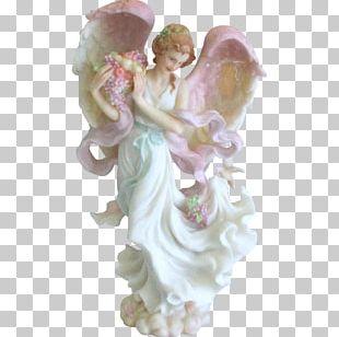 Angel Seraph Heaven Figurine Statue PNG