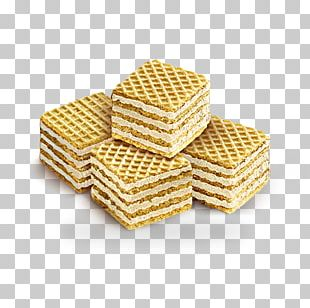 Wafer Waffle Cream Vanilla Biscuit PNG