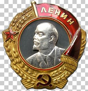Soviet Union Order Of The Red Banner Medal Russia PNG