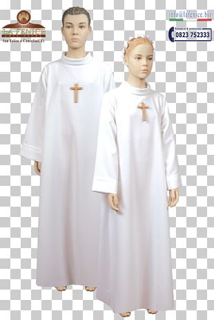 First Communion Dress Tunic Gown PNG
