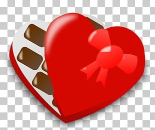 Valentine's Day Candy Chocolate Heart PNG