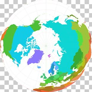 Arctic Ocean North Pole Northern Hemisphere Earth PNG