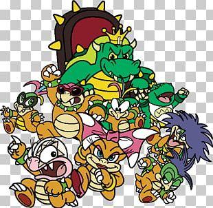 Bowser Super Mario Bros. 3 PNG