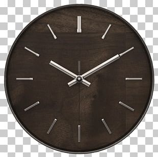 """Timekeeper A4003FW 11 Hastings Walnut Wall Clock With Chrome Accent Portable Network Graphics Timekeeper A4003FW 11"""" Hastings Walnut Wall Clock With Chrome Accent Quartz Clock PNG"""