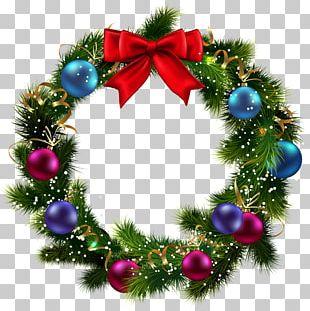 Christmas Wreath Garland PNG