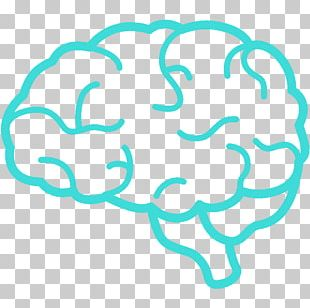 Outline Of The Human Brain Computer Icons PNG