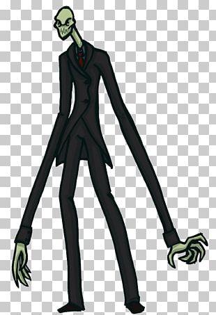 Slenderman Horror Fiction Character Horror Fiction PNG
