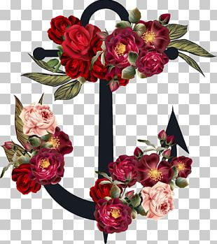 Flower Anchor PNG