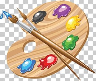 Palette Painting Art PNG