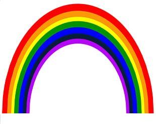 Rainbow Circumhorizontal Arc PNG