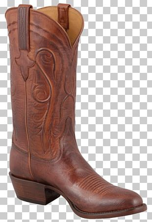 Cowboy Boot Leather Shoe Fashion Boot PNG