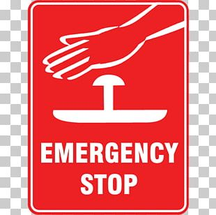 Emergency Safety Sign Kill Switch Sticker PNG